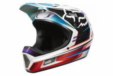 Casque integral fox rampage comp reno rouge bleu xl 61 62 cm