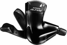 Shimano Alfine Rapidfire 8 Speed Shifter - Noir - RH Shifter and Lever