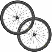 Mavic Cosmic Pro Carbon SL UST Disc TDF Wheels 2020 - Noir - Centre Lock, Noir