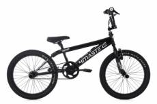 Bmx freestyle ks cycling 4masters 20 noir blanc
