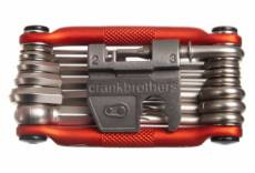 multi outils crankbrothers m19 edition alltricks 19 fonctions orange