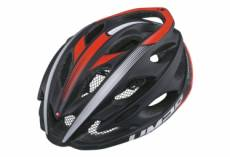 Casque route limar ultralight lux noir mat rouge l 57 61 cm