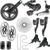 Campagnolo Chorus 12 Speed Road Groupset - Disc 2020 - Carbone - 50.34
