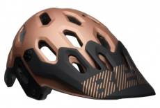 Casque bell super 3 noir copper l 58 62 cm
