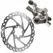 Freins à disque VTT Hayes CX Expert + rotor 160mm - Argent - Front or Rear