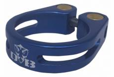 Collier de selle dabomb mark2 34 9mm bleu