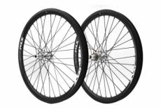 Paire de roues pride racing highmod pro carbon 12k matt rival high polished 24