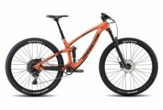 Velo tout suspendu transition smuggler carbone 29 sram nx eagle 12v orange 2019 m 165 180 cm
