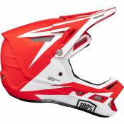 Casque 100 % Aircraft Composite - Rapidbomb-Red - XL, Rapidbomb-Red